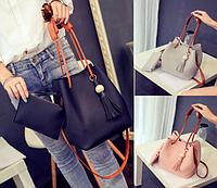 Женская молодежная сумка с кошельком Haley