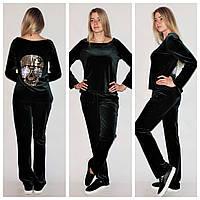 Стильный велюровый костюм tez391011