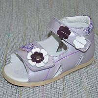 Открытые сандалии для девочек Flamingo размер 18 20 21 23