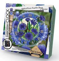 """Набор для творчества """"Embroidery clock"""" часы (вышивка гладью и бисером) EС-01-01, 02, 03, 04, 05"""