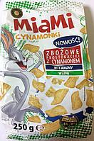 Сухой завтрак Miami Cynamonki с корицей 250 g