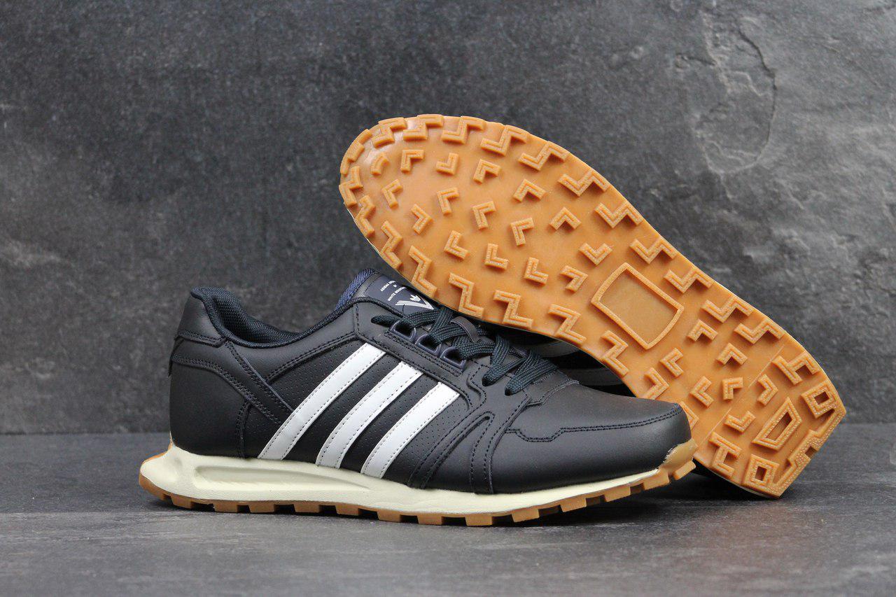 71e17c18 shock.org.ua | Кроссовки мужские Adidas Neo темно синие 4301. Цена ...