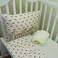 Комплект детского белья в кроватку - 06