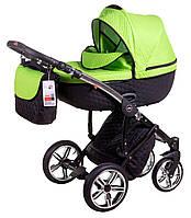 Детская коляска 2 в 1 Jumper R-5 620868 Tako, салатовый/черный