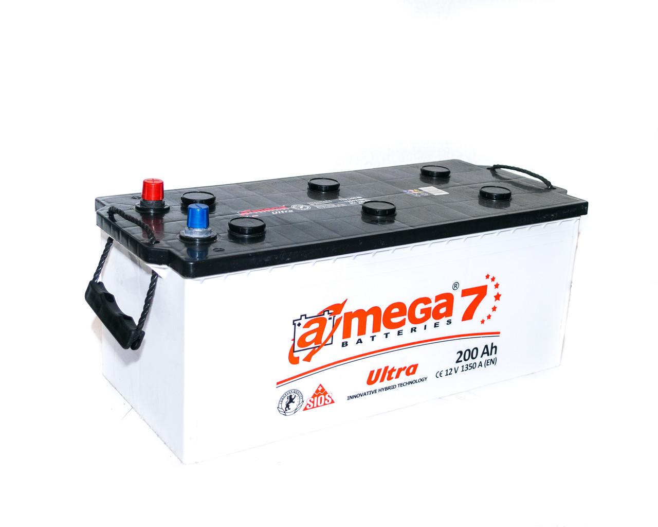 Аккумулятор автомобильный 6СТ-200Аз. 1350A. A-MEGA ULTRA (M7)