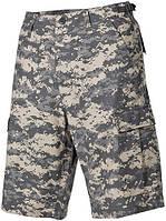 Полевые шорты американской армии, Rip Stop, цифровой камуфляж MFH 01512Q , фото 1
