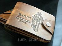 Мужской кошелек портмоне Bailini с ковбоем без вырезов, фото 1