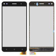 Сенсорный экран для мобильного телефона Fly FS507 Cirrus 4, черный