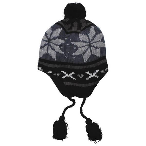 """Акриловая шапка, флисовая подкладка """"Peru Lima"""" 10041A"""
