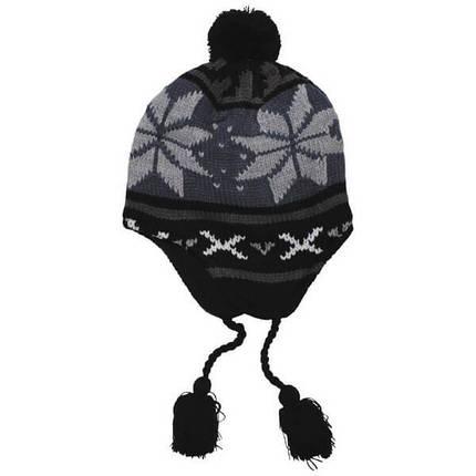 """Акриловая шапка, флисовая подкладка """"Peru Lima"""" 10041A , фото 2"""