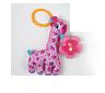 Мягкая игрушка. Погремушка. Подвеска. Розовый жираф.