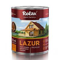 """Лазурь алкидная для древесины Premium """"Rolax"""""""