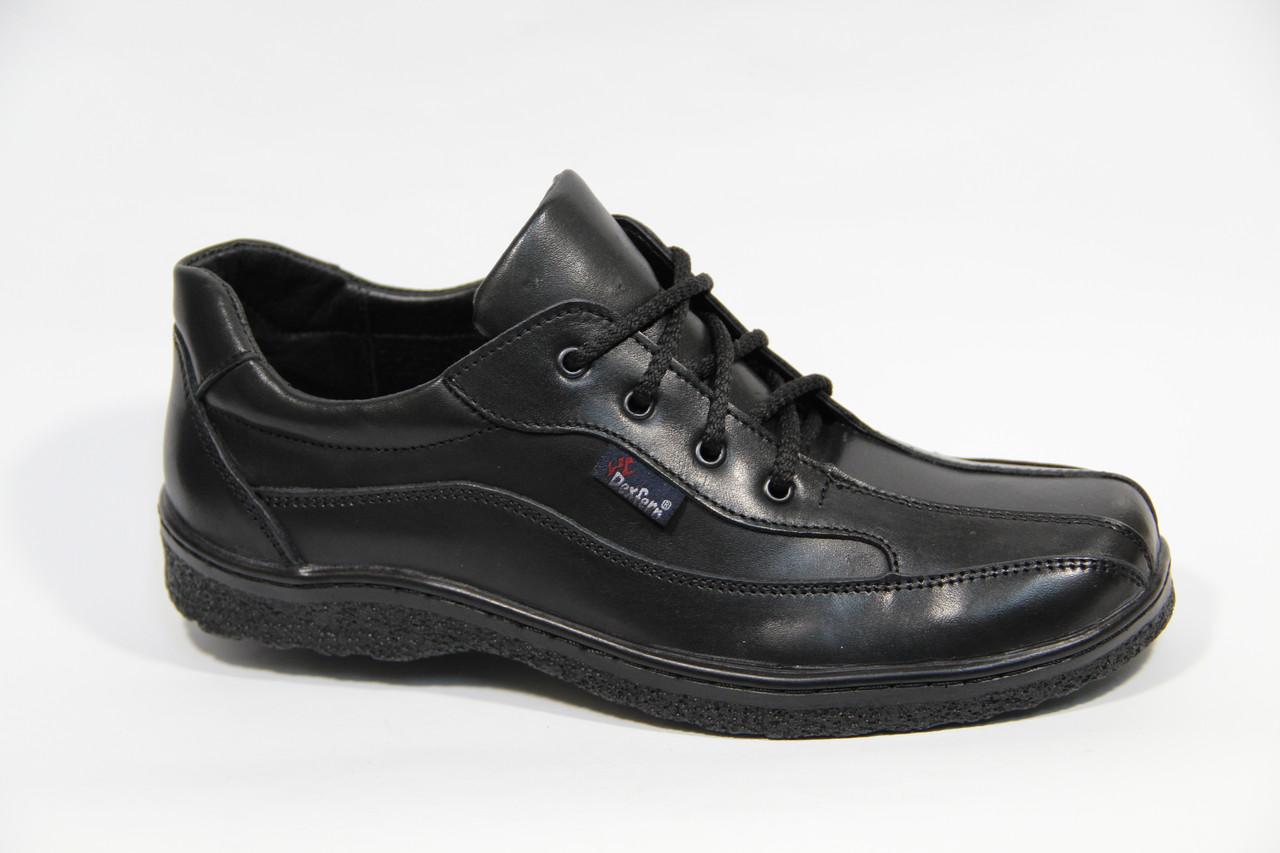 Туфли мужские из натуральной кожи ДФ поло