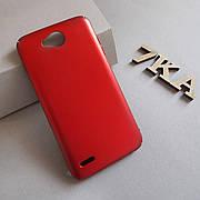 Пластиковый чехол для LG X Power 2 Red