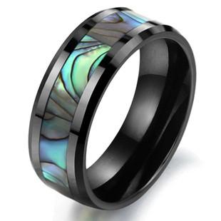 """Мужское кольцо из керамики """"Морская бездна"""", фото 1"""