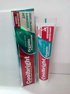 Зубная паста Coolbright Organic 105 гр (8121)