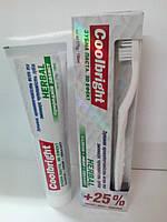 Зубная паста Coolbright Herbal 175 гр + щітка (8107)