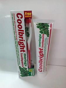 Зубная паста Coolbright Moringa 175 гр + щітка (8114)