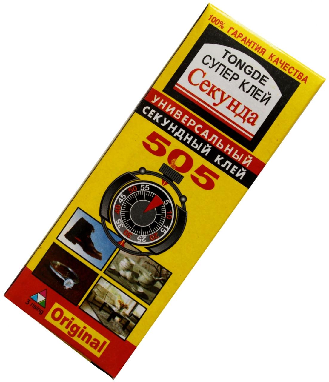 """Супер-клей """"505"""" (ORIGINAL) универсальный супер-клей"""