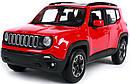Автомодель (1:24) Jeep Renegade красный металлик                                                    , фото 3