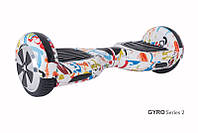 Гироскутер с 6,5 дюймовыми колесами Smart Way U3 граффити