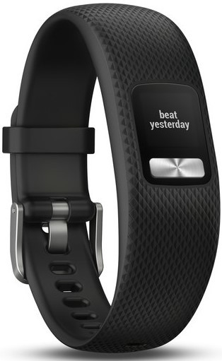 Фітнес-браслет Garmin Vivofit 4 Black (Small/Medium)