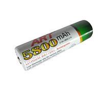 Аккумулятор ART 18650-5800mAh