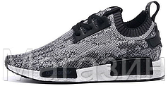 Мужские кроссовки Adidas NMD Runner Адидас НМД серые