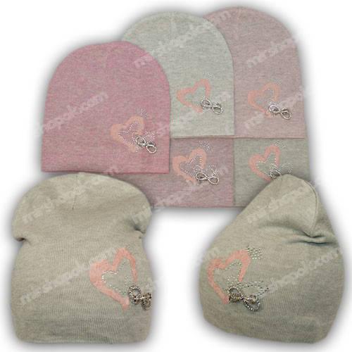 Весенние шапки для девочек, р. 50-52