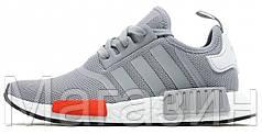Мужские кроссовки Adidas NMD Runner R1 Light Onix Адидас НМД серые