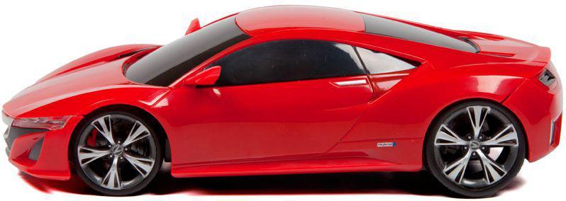 Игровая автомодель 2013 Acura NSX Concept красный (свет. и звук. эф.), М1:24, 2шт. бат. АА в компл.