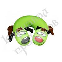 Подушка для путешествий КотоПес (зеленый)