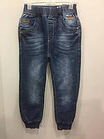 Детские джинсы джоггеры для мальчика 98,104,110 см