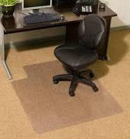 Коврик под кресло для защиты пола прозрачный 65х125см. Толщина 1,0мм