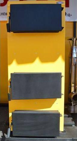 Шахтный котел по принципу Холмова Буран Montem F 10 квт, фото 2