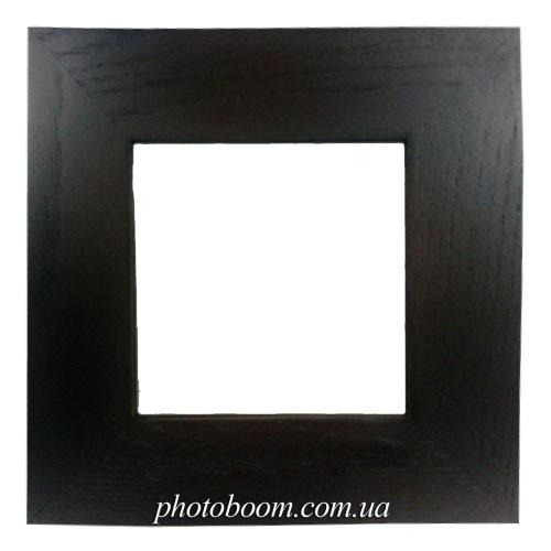 Плитка белаят керамическая в рамке из натурального дерева (10х10 см)