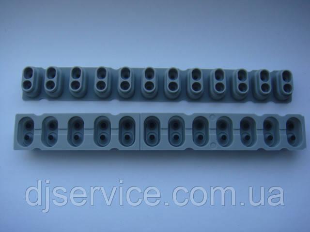 Резиновые ремкомплекты 12pin под клавиши Korg PA500, PA600, PA900, X50, KROME61, KROME73