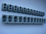 Резиновые ремкомплекты 12pin под клавиши Korg PA500, PA600, PA900, X50, KROME61, KROME73, фото 5