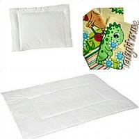 Одеяло детское с подушкой и постельным бельем для новорожденных, фото 1