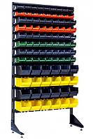 Витрина с пластиковыми ящиками 1.8 м