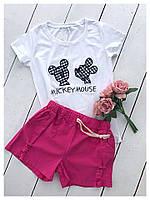 Женские летние шорты из коттона, фото 1