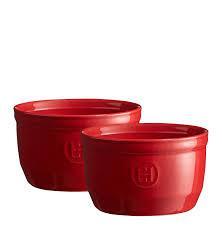 Набір форм порційних Emile Henry 10,5 см червоних 2 шт 324010