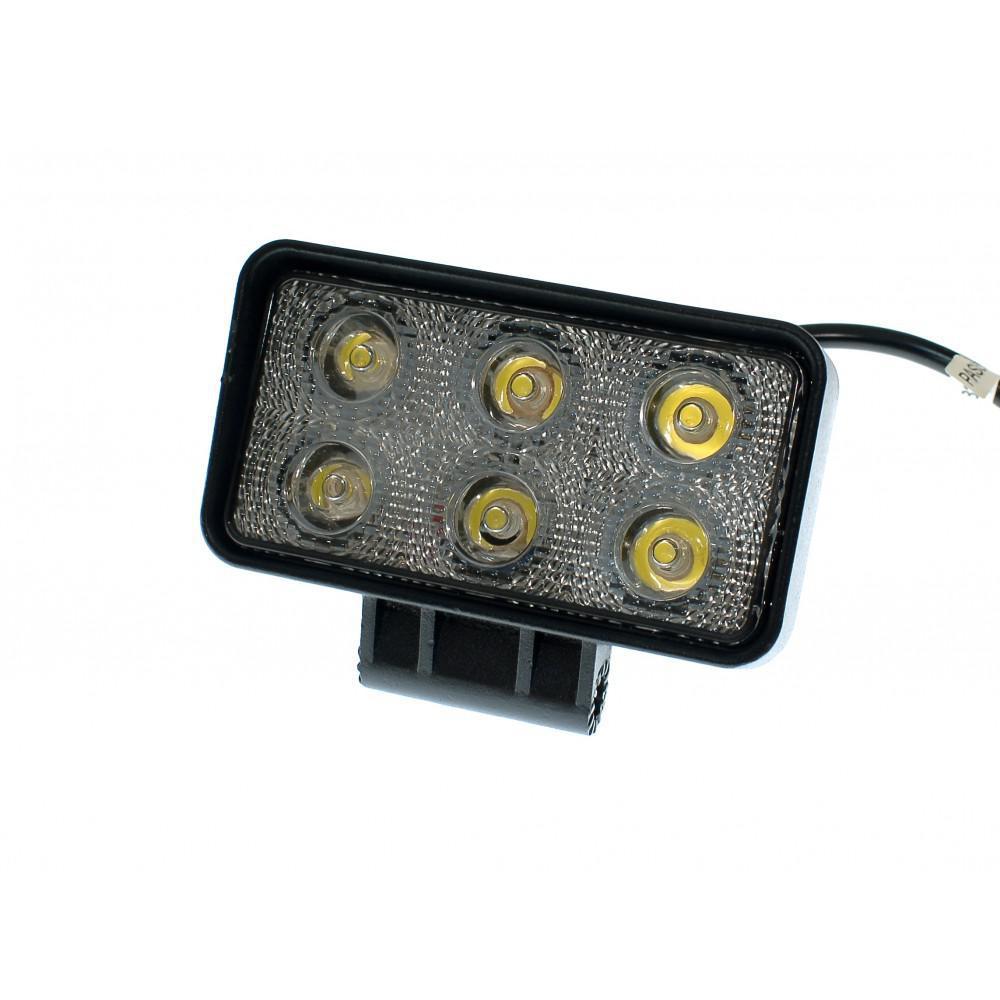 Світлодіодна фара AllLight 09T-18W 6chip OSRAM 3535