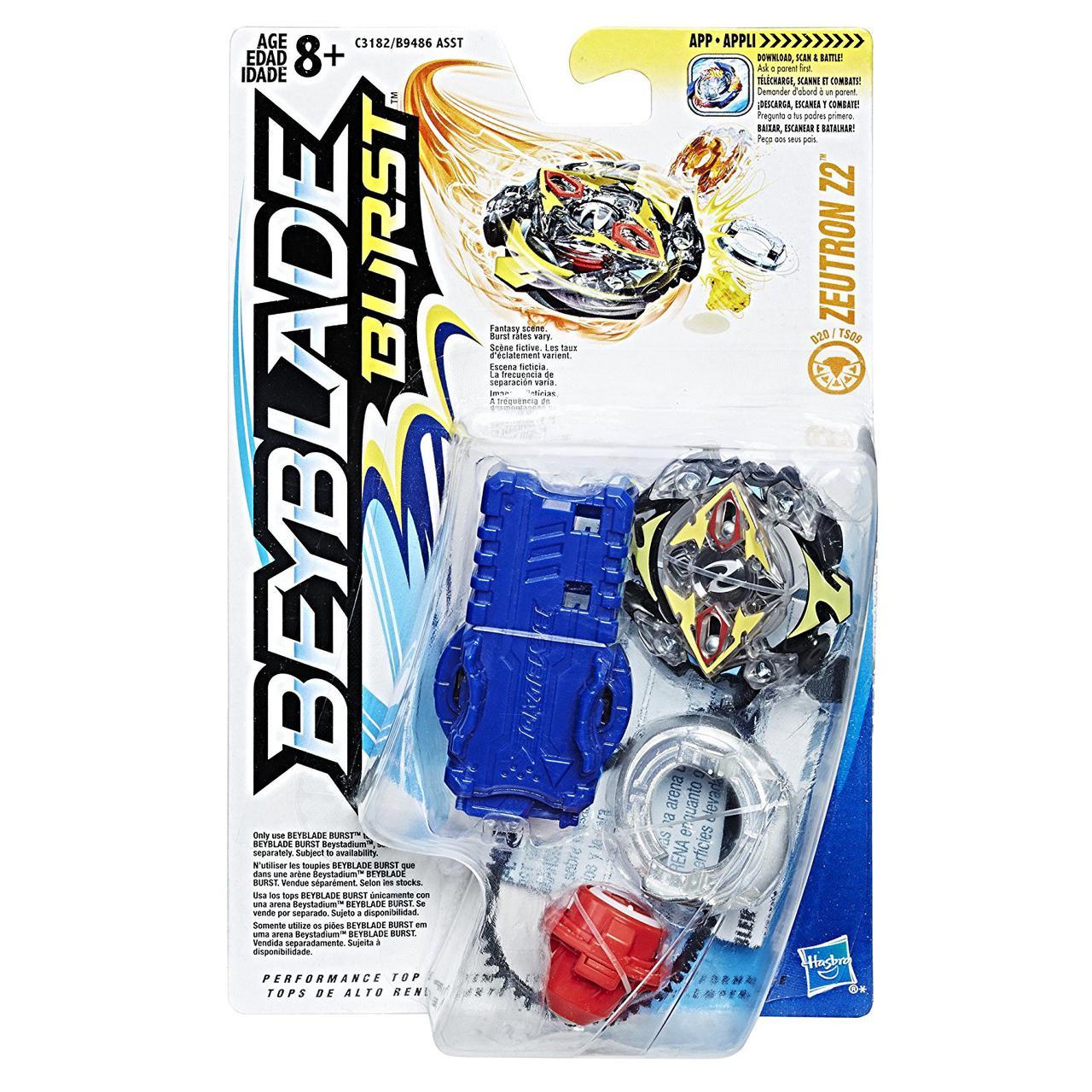 Бейблейд Зейтрон Z2 с пусковым устройством Hasbro (Beyblade Burst Zeutron Z2)