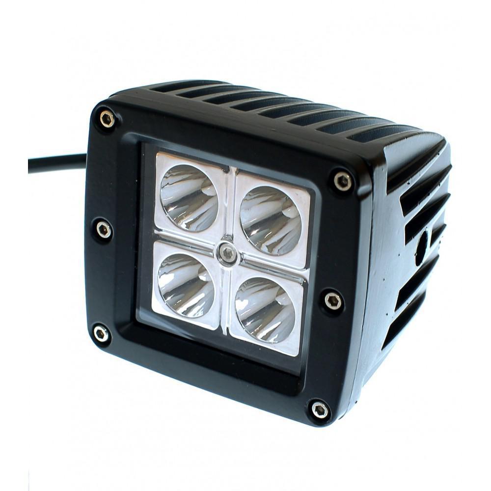 Світлодіодна фара AllLight 14T-12W 4 chip EPISTAR 9-30V