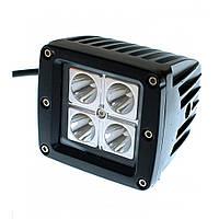 Світлодіодна фара AllLight 14T-12W 4 chip EPISTAR 9-30V, фото 1