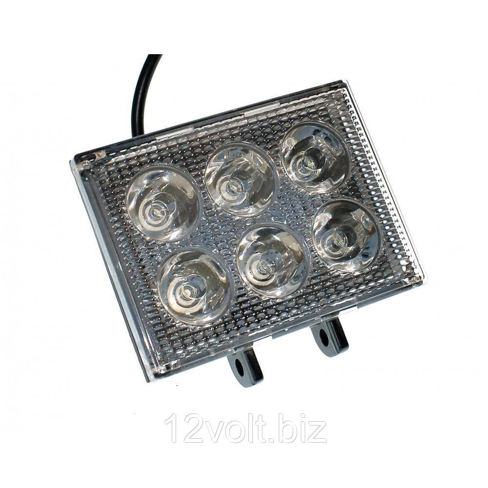 Светодиодная фара AllLight 39T-18W 6 chip EPISTAR 9-30V