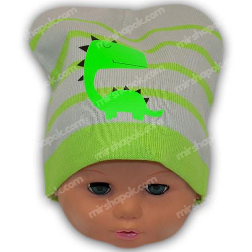 шапка в'язана з хвостом дракона