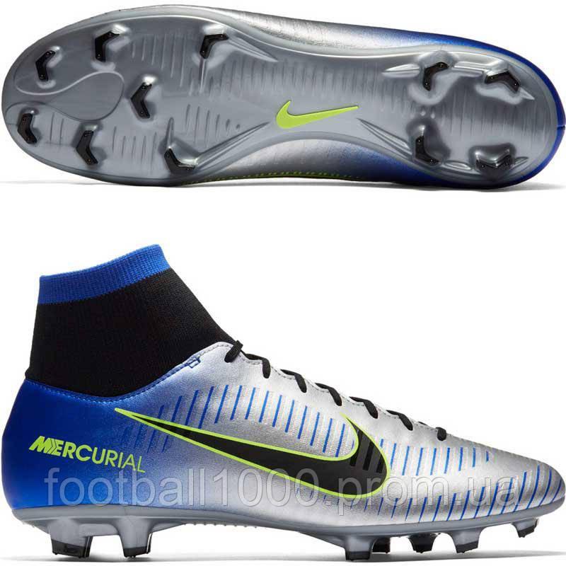 3db34d75e Футбольные бутсы Nike Mercurial Victory VI DF Neymar FG 921506-407 ...
