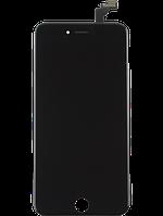 Дисплей для Apple iPhone 6 черный, с тачскрином